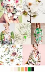 2017春夏もトレンド継続【ボタニカル柄ファッションコーデ】参考になる海外スナップまとめ