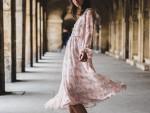 【しまむらコーデ】花柄ワンピース×サッシュベルト 30代おすすめ2017春夏ファッション